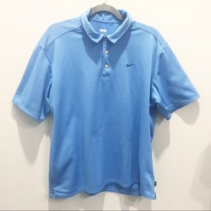 Men's Blue Nike Polo-Sz XL